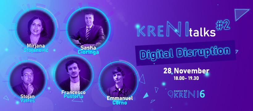 #KreNItalks #2 - Digital Disruption