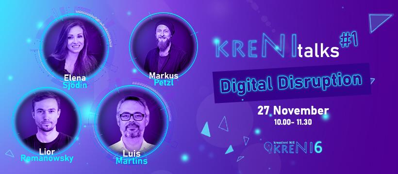 #KreNItalks - Digital Disruption